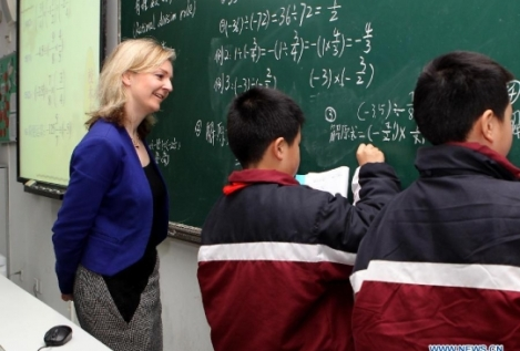Elizabeth Truss Shanghai Maths