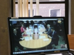 Video conference with Gymnasia 2 school, Perm