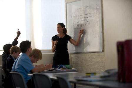Photo of teaching DGS