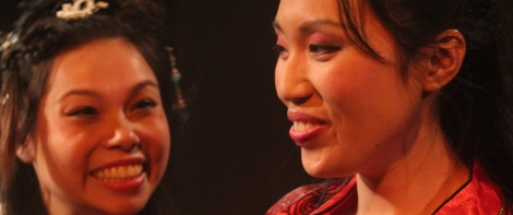 Siu-See Hung as WangJingWei and Michelle Yim as DiaoChan